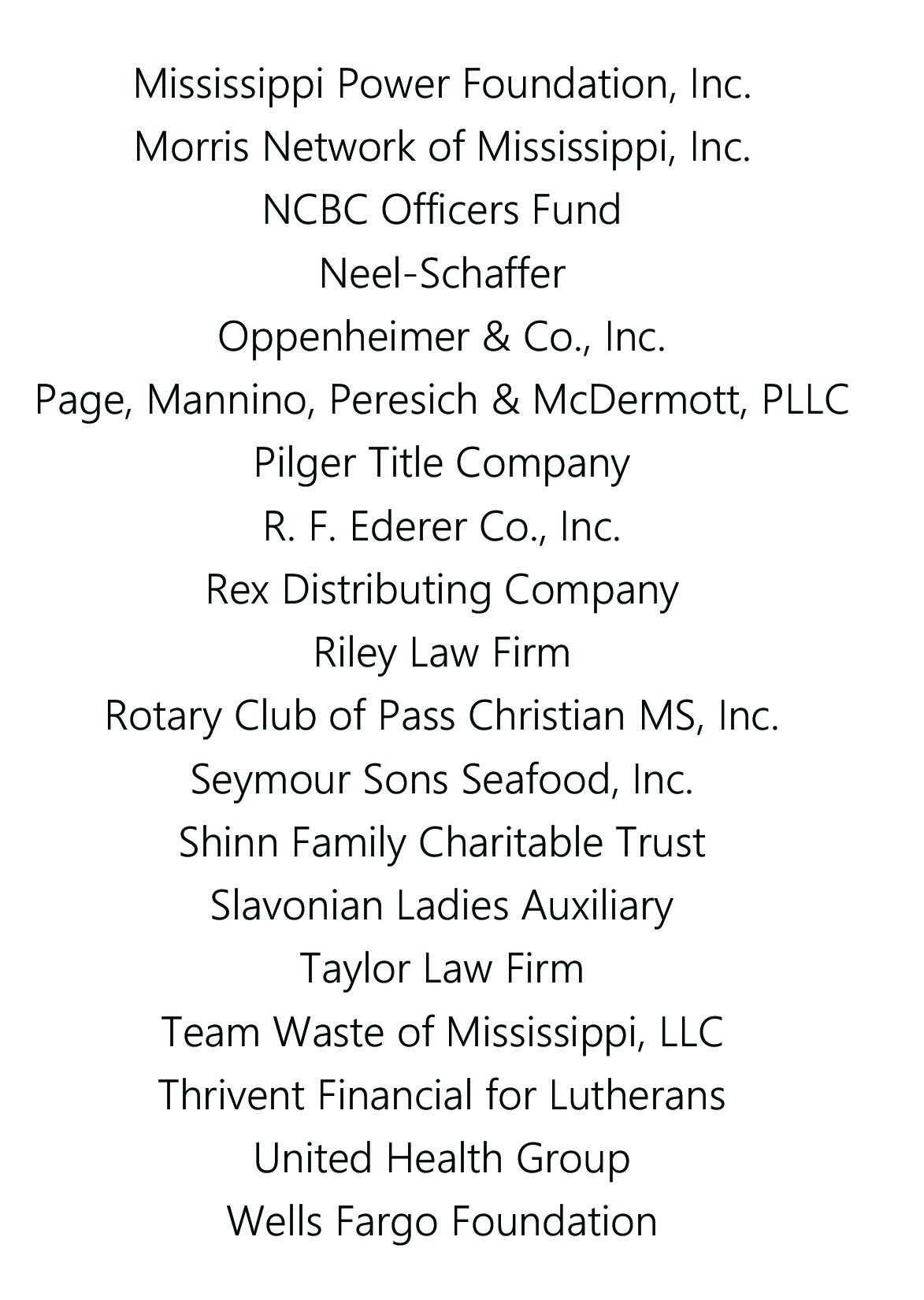 annual report list of donors for website.CSV