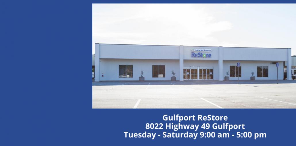 Copy of Ocean Springs ReStore 3176 Bienville Blvd Ocean Springs Tuesday – Saturday 10_00 am – 6_00 pm (1)